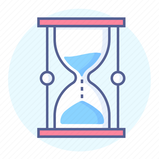 glass, hour, hour glass, hourglass, passing, time icon
