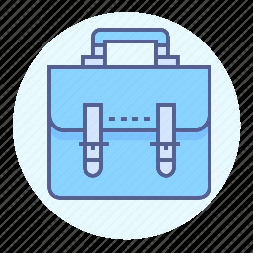 brief, briefcase, business, case, portfolio, school bag icon
