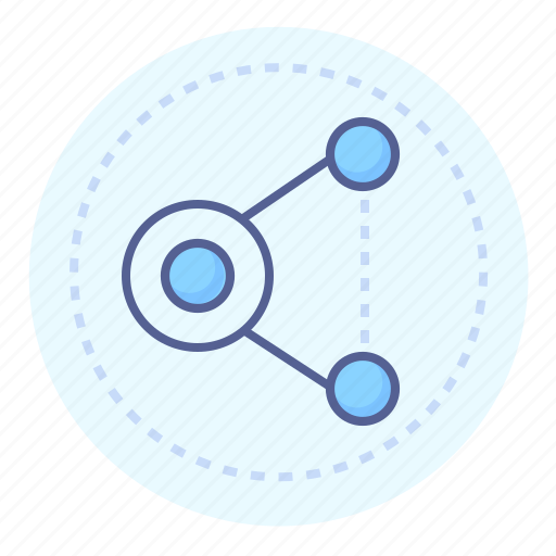 connected, connection, relation, share, sharing icon