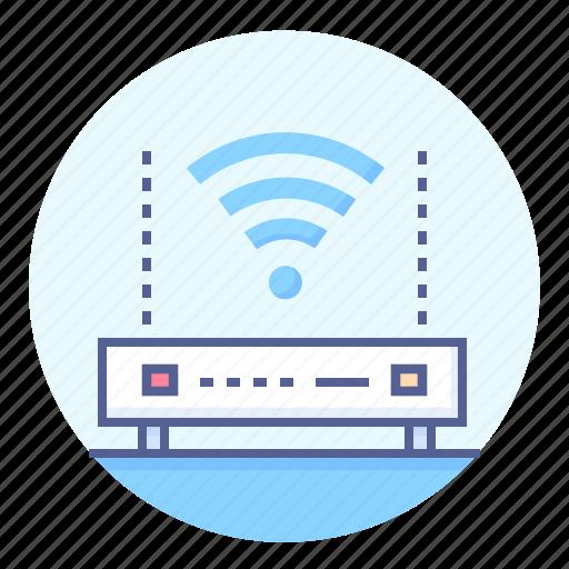device, internet, router, wi-fi, wifi, wifi router icon