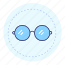 eyesight, glasses, optitian, round glasses, spectacles, sunglasses, vision icon
