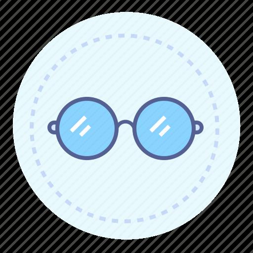 eyesight, glasses, optitian, round glasses, spectacles, sunglasses, vision icon