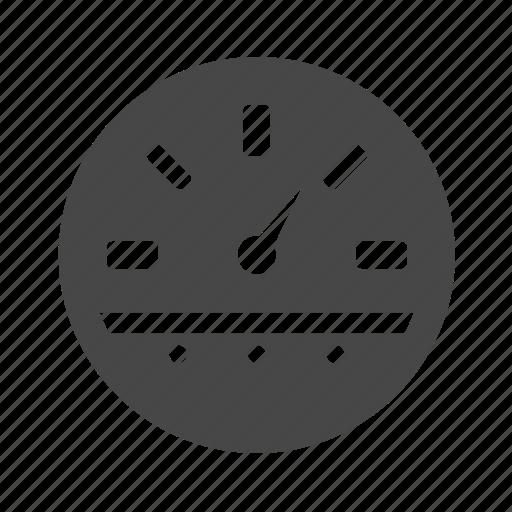 meter, scale, speedometer icon