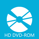 dvd, rom, hd icon
