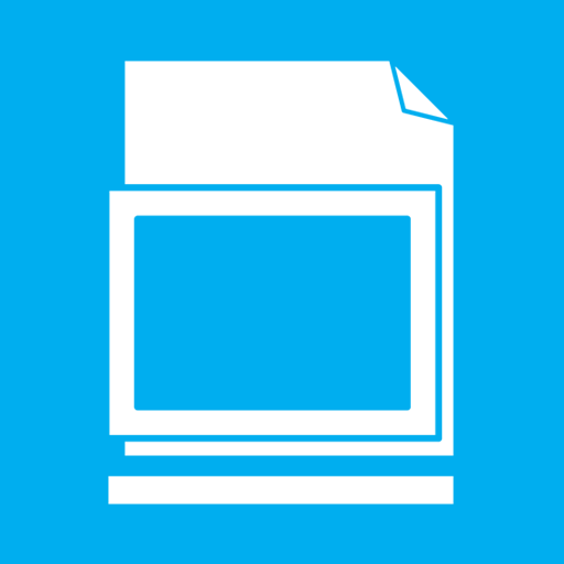 blank, library icon