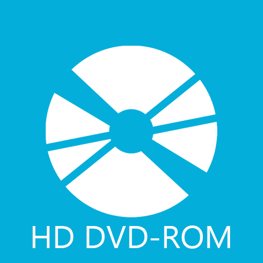 dvd, hd, rom icon