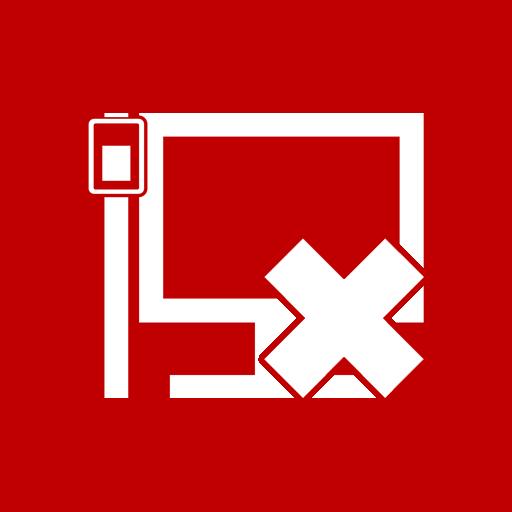lan, unavailable icon