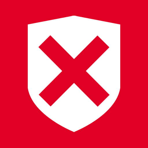 denied, security icon