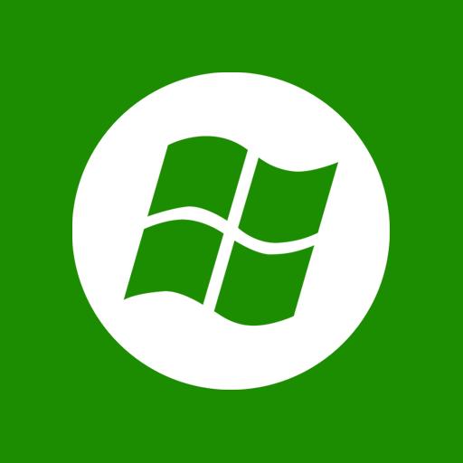 center, media, windows icon