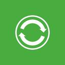 center, sync icon