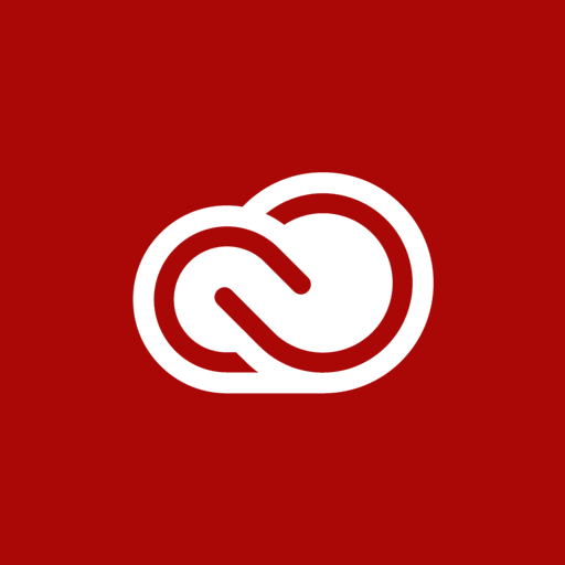 adobe, cloud, creative icon