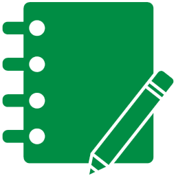 Image result for journal icon green