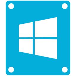 8, drive, windows icon
