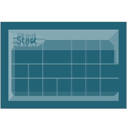8, screen, start, windows icon
