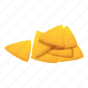 business, food, nachos, party, texture icon