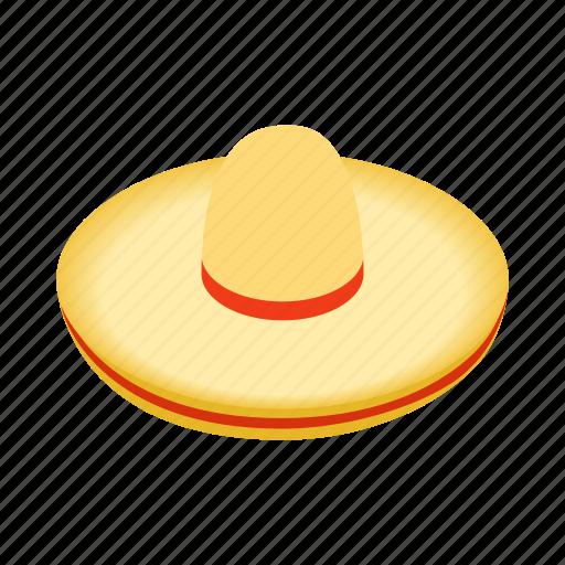 culture, hat, isometric, latin, mexican, mexico, sombrero icon