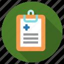 data, medical, hospital, patient, diagnostic, health, medicine icon