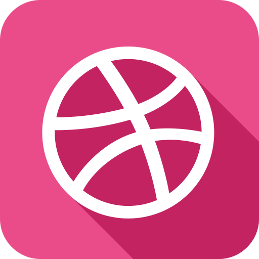 ball, dribbble icon