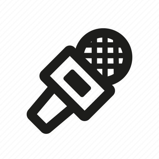 mic, microphone, sound icon