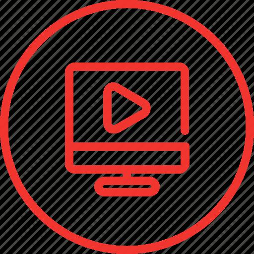 microsite, movie, page, part, set, web icon