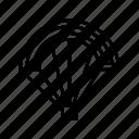 army parachute, military, military parachute, parachute, sky dive icon