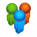 chat, civilian, forum, group, people, users icon
