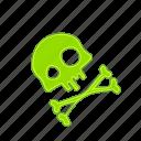 danger, health, poison, toxic, virus icon