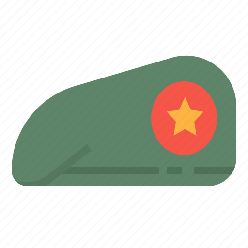 army, cap, military, soldier icon