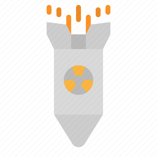 atomic, bomb, miscellaneous, nuclear, war icon