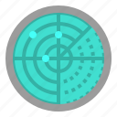 area, location, maps, positional, radar icon