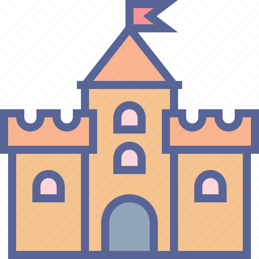 bastion, castle, citadel, fort, fortress icon