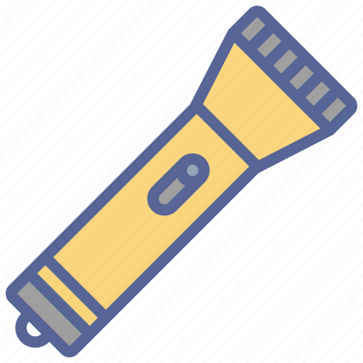 camping, flash, light, torch icon
