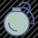 ammunition, bomb, explosive, grenade icon