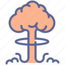 bomb, explosion, nuclear, thunderball icon