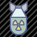 bomb, nuclear, radioactive, war