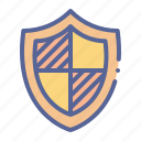 badge, protection, security, shield icon