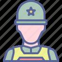 helmet, military, soldier, war icon