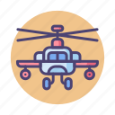 aircraft, apache, chopper, heli, helicopter