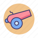army, artillery, bomb, canon, military, weapon icon