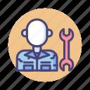 engineer, guard mechanic, guard mechanics, mechanic, technician icon