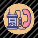 military, military radio, radio icon
