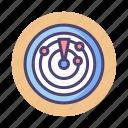 radar, sonar, sonar radar icon