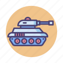 military, tank, tanker, war icon