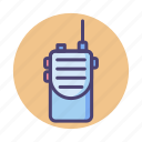 talkie, walkie, walkie talkie icon
