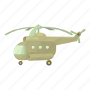 cartoon, fly, helicopter, propeller, technology, transport, travel icon