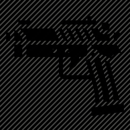 gun, military, short, war, weapon icon