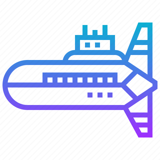 military, submarine, transportation, war icon