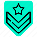 badge, mark, military, tag, war icon