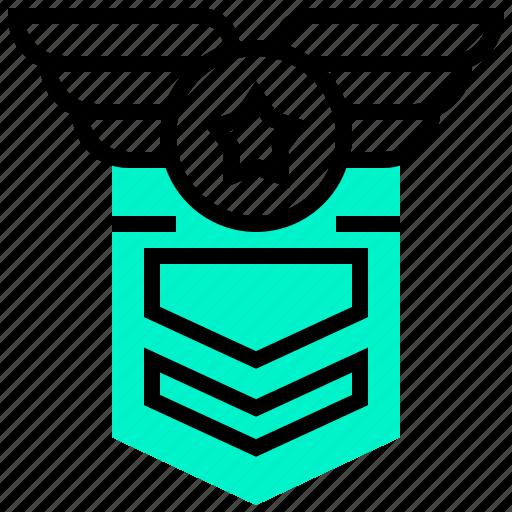 badge, military, tag, war icon