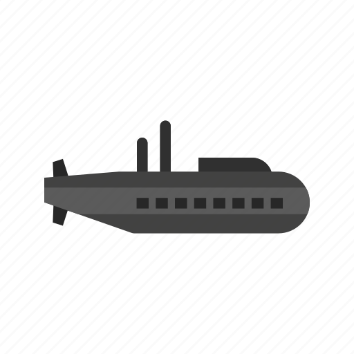 boat, military, sea, ship, submarine, technology, underwater icon